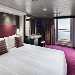 <p>The ship features 85 family-focused accommodations. // © 2017 MSC Cruises</p><p>Feature image (above): Attend Cirque du Soleil at Sea onboard MSC...