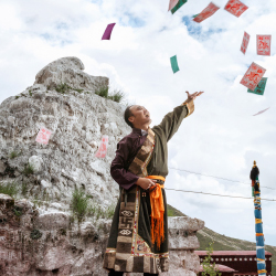<p>In Tibet, guests interact with monks and take a meditation class. // © 2017 Silversea Cruises/Andrea Frazzetta</p><p>Feature image (above): In...