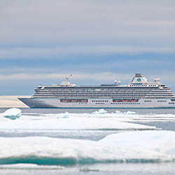 <p>Crystal Cruises will repeat its historic Northwest Passage voyage in August. // © 2017 Crystal Cruises</p><p>Feature image (above): In 2017,...