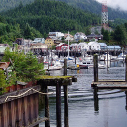 <p>Many Alaska cruise itineraries stop in Ketchikan, Alaska. // © 2015 Thinkstock</p><p>Feature image (above): Princess Sapphire was once among...