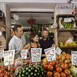 <p>Azamara's Cruise Global, Taste Local allows passengers to experience local culinary gems. // © 2017 Azamara Club Cruises</p><p>Feature image...
