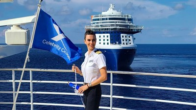 Industry Q&A: Captain Kate McCue of Celebrity Cruises Discusses Life Onboard and Online