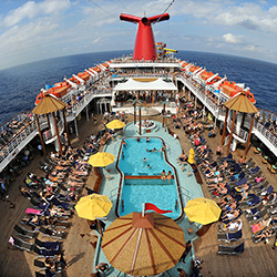 <p>Agents can now earn commission on future cruise credits applied to new bookings. // © 2017 Carnival Cruise Line</p><p>Feature image (above): Agents...