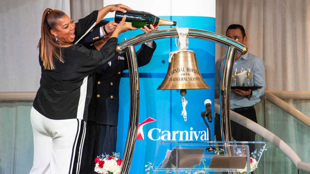 Inside Carnival Horizon's Ship-Naming Ceremony