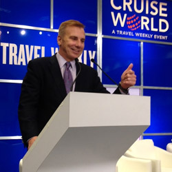 <p>Dwain Wall of WorldCruise believes that the Chinese cruise market can be tapped by American travel planners. // © 2015 WorldCruise.cn</p><p>Feature...