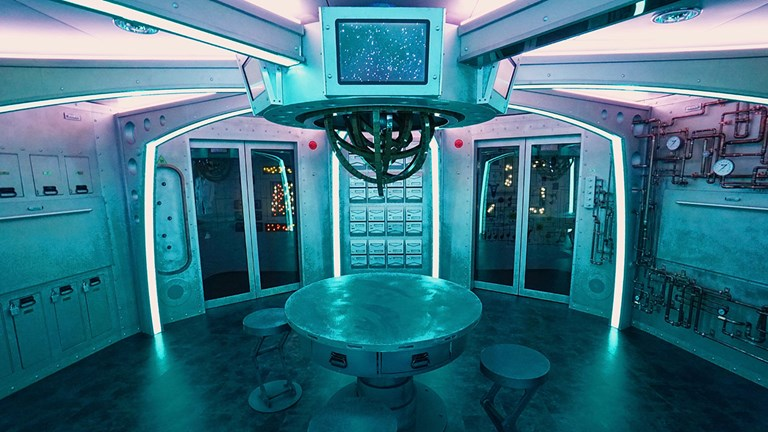 Escape the Rubicon onboard Royal Caribbean's Harmony of the Seas is spaceship-themed.