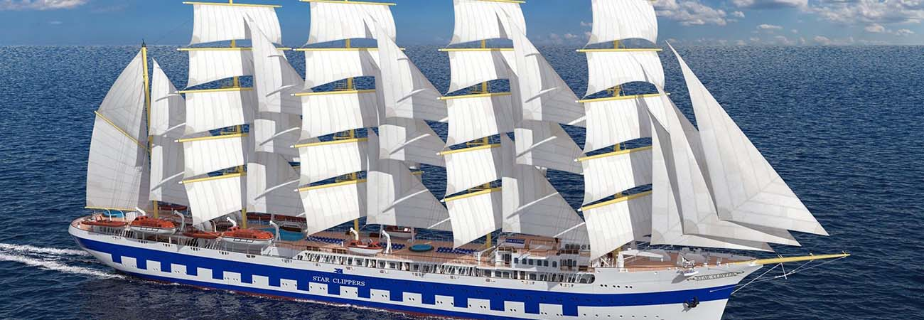Star Clippers Launches New Loyalty Program Benefits, New Ship