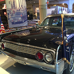 <p>The writer took a tour of the Henry Ford Museum in Detroit. // © 2015 Lisa Frobisher</p><p>Feature image (above): From Mackinac Island, Haimark's...