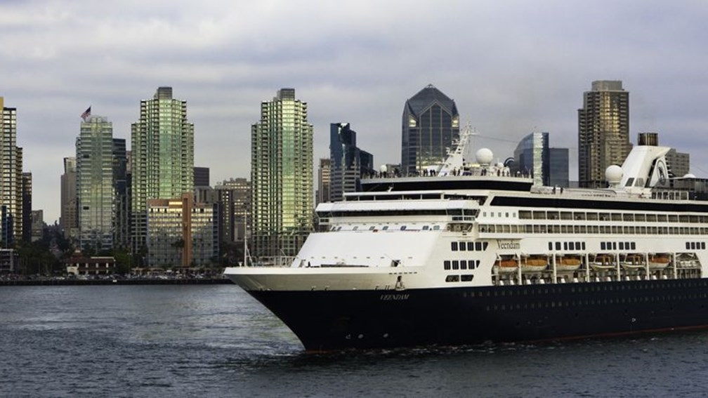 Veendam will sail roundtrip out of San Diego on newly expanded itineraries. // © 2013 Holland America Line F