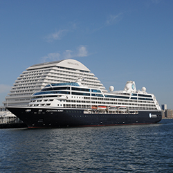 <p>Ships chosen for Landry & Kling's Top 10 Ships for Top-Tier Events list must have less than 500 rooms. // © 2015 Azamara Club...