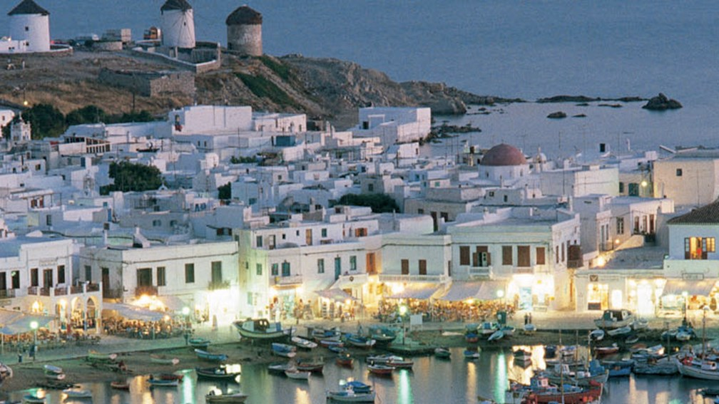 Ports of call for vessels under the Celestyal brand will include Mykonos, Greece. // © 2014 Louis Cruises 2