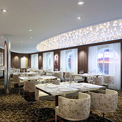 Celebrity Cruises' new Luminae restaurant offers suite guests complimentary, one-of-a-kind dishes for breakfast, lunch and dinner. // © 2015 Celebrity...