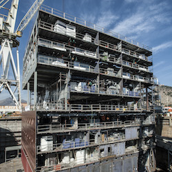 <p>MSC Cruises's Armonia is the first of four ships to undergo an extensive dry dock and expansion. // © 2014 MSC Cruises</p><p>Feature image (above):...