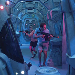 <p>Norwegian Bliss will feature an open-air laser tag course. // © 2017 Norwegian Cruise Line</p><p>Feature image (above): Bliss has been specially...