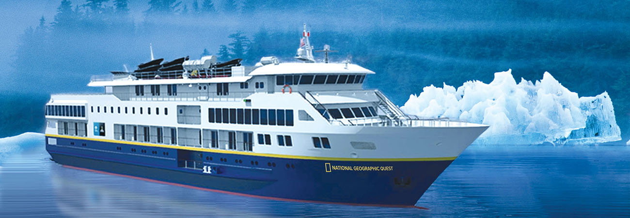 National Geographic Quest to Sail in Alaska and the PNW