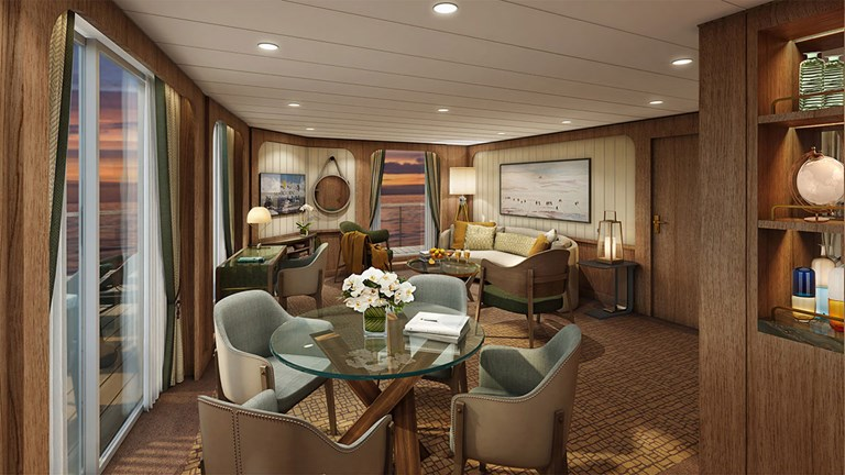 Seabourn Venture will set sail in Norway in 2022.