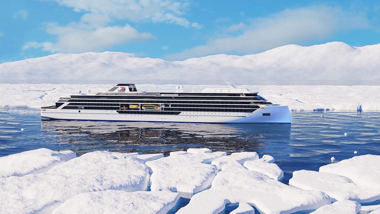 Viking Polaris will sail to Antarctica and the Arctic.