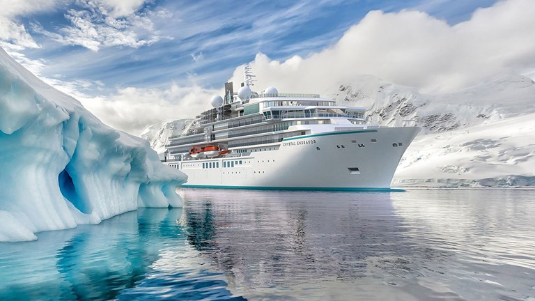 Crystal Endeavor will sail its maiden journeys in Iceland this summer.
