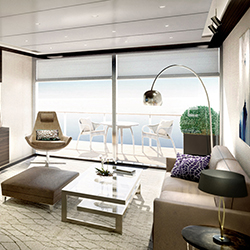 <p>The Ritz-Carlton Yacht Collection's line of ships will feature duplex suites. // © 2017 The Ritz-Carlton Yacht Collection</p><p>Feature image...
