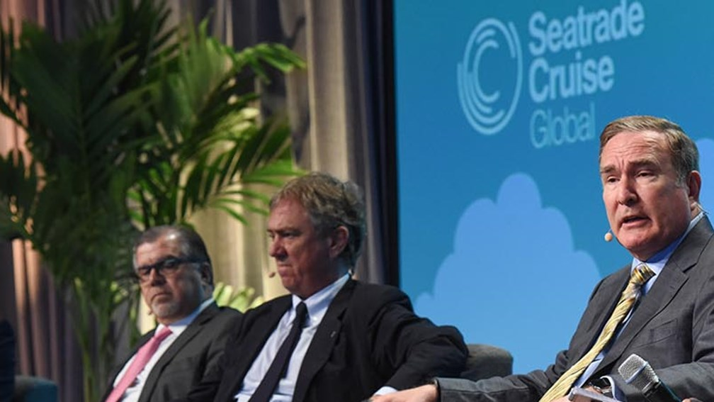 Cruise Executives Celebrate Prosperous Times at Seatrade