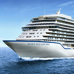 <p>Seven Seas Explorer's pool deck will include teak, marble and natural stone accents. // © 2015 Regent Seven Seas Cruises</p><p>Feature image...