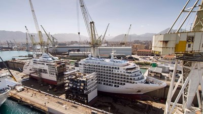 Behind the Scenes of Silversea's Ship Lengthening
