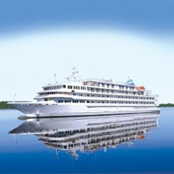 Pearl Mist is scheduled to sail her first cruise on June 25 out of Baltimore. // © Pearl Seas Cruises