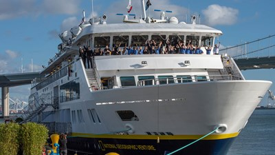Lindblad's National Geographic Venture Launches in San Francisco Bay
