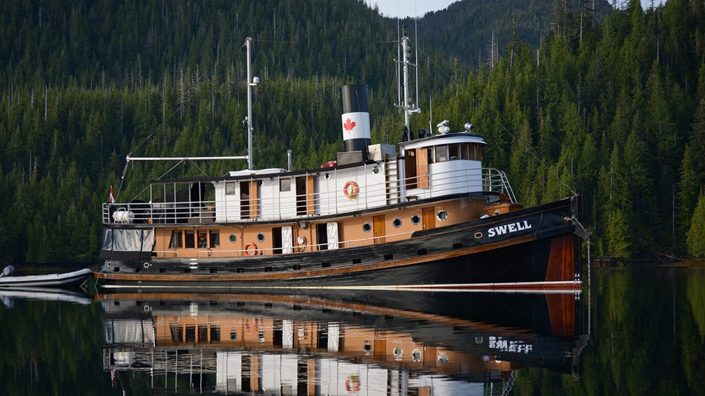 An Eco-Adventure Onboard Alaskan Tugboat Swell