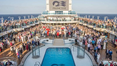 Princess Cruises Takes the Title for Romance