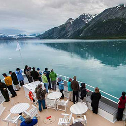 Un-Cruise Adventures offers seven- to 21-day cruise itineraries in Alaska. // © 2014 Peter West Carey/Un-Cruise Adventures