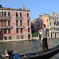 Despite being a popular cruise port, Venice, Italy, is regulating large cruise ships. // © 2013 Skye Mayring