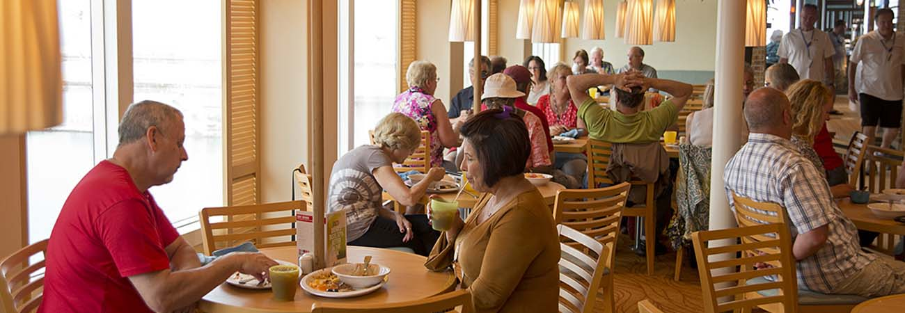 Enjoy Dining Choices On Carnival Vista Travelage West