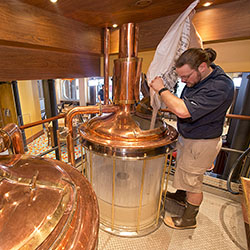 <p>Carnival Vista boasts the first craft brewery at sea. // © 2017 Carnival Cruise Line</p><p>Feature image (above): Vista also touts the cruise...