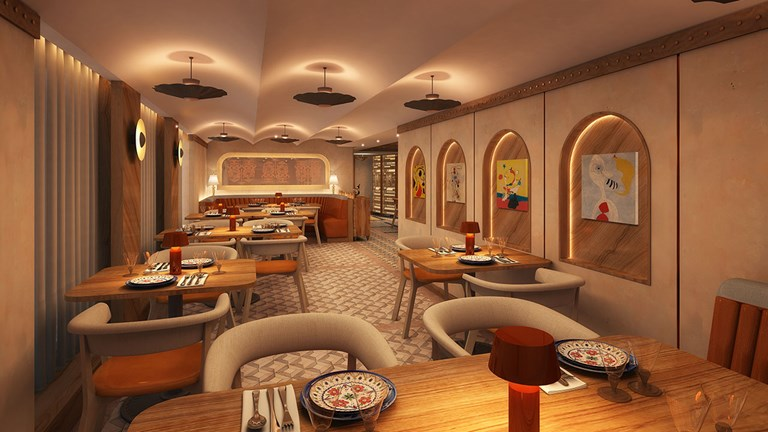 The new Cuadro 44 by Anthony Sasso will be a Spanish tapas venue.