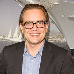 <p>Christopher Prelog, vice president of fleet operations for Windstar Cruises // © 2016 Windstar Cruises</p><p>Feature image (above): Prelog will...