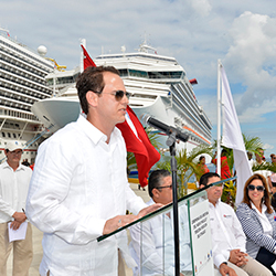 <p>David Candib, vice president of development and operations for the global port and destination development group at Carnival Corporation & plc...
