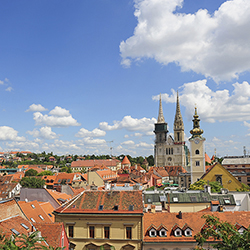 <p>Agents will begin the 12-day fam trip with a tour of Zagreb, Croatia. // © 2016 iStock</p><div></div>