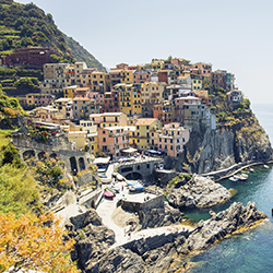 Explore the Cinque Terre during this weeklong cruise. // © 2016 iStock