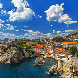 During this weeklong cruise, take some time to explore Dubrovnik, Croatia. // © 2016 iStock