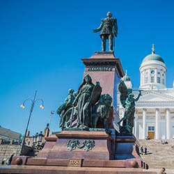 Spend three nights in Helsinki, the capital of Finland. // © 2017 Creative Commons user <a...