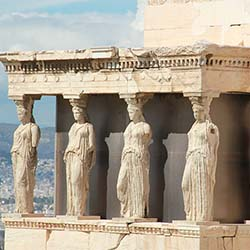 Visit historical monuments, such as the Acropolis in Athens, during this trip to Greece. // © 2017 Creative Commons user <a...