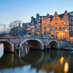 Start off your cruise in Amsterdam. // © 2016 iStock