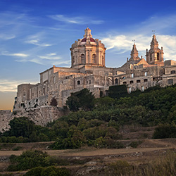 Agents will tour Mdina, the old capital of Malta. // © 2014 Thinkstock