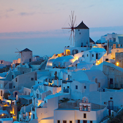 Spend three days on the island of Mykonos as part of The Blue Walk's 10-day tour of Greece. // (c) 2014 Thinkstock