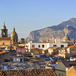 Palermo is featured prominently in this tour of Sicily and southern Italy. // © 2015 Thinkstock