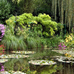 Visit Claude Monet's hometown of Giverny, France, the inspiration for his artwork. // © 2015 iStock