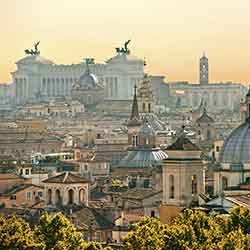<p>Guests will begin and end their trip in Rome. // © 2016 iStock</p><p> </p>