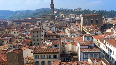 A view of Florence from above // © 2016 Valerie Chen 2