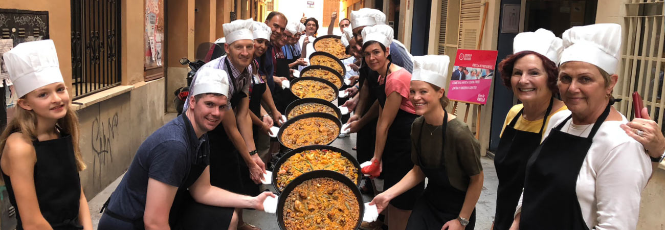 The Art of Making Paella in Valencia, Spain